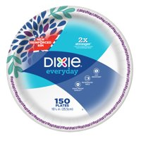 Dixie Everyday Paper Plates, Dinner, 150 Count