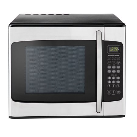 Hamilton Beach 1.1 Cu. Ft. Stainless Steel Microwave (Emerson 1-1 Cu Ft 1000w Microwave Oven)