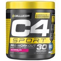 Cellucor C4 Sport Pre Workout Energy Powder, Watermelon, 30 Servings