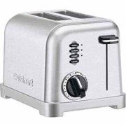 Cuisinart 2-Slice Metal Classic Toaster, Stainless Steel