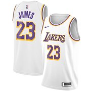 d26971b725d LeBron James Los Angeles Lakers Nike Youth 2018 19 Swingman Jersey White -  Association Edition
