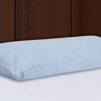 """Mainstays HUGE Body Pillow in Blue and White Stripe, 20"""" x 54"""""""