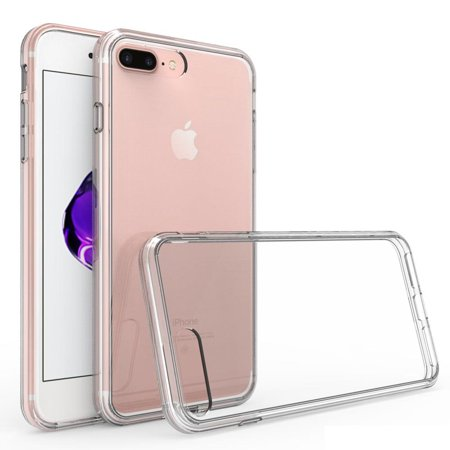 iPhone 7 Plus, 8 Plus Case - Armatus Gear (TM) Ultra Slim Anti-Scratch Acrylic Clear Case with TPU Grip Bumper Hybrid Phone Cover for Apple iPhone 7 PLUS, iPhone 8 PLUS