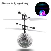MallroomRC Flying Ball Drone Helicopter Ball Built-in Shinning LED Lighting for Kids Toy