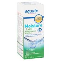 Equate Moisture Last Multi-Purpose Solution, 12 fl oz