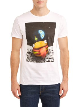 2849eb0a1bf2 Product Image Fortnite Men s Burger Space Graphic T-Shirt, Available up to  size 3XL