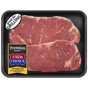 Beef Choice Angus New York Strip Steak 0.82-1.57 lb