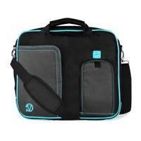 VANGODDY Pindar Travel School Shoulder Case Bag for 10, 11, 11.6 inch Laptops / Netbooks / Tablets [Apple, Acer, Asus, HP Samsung, Toshiba, etc]