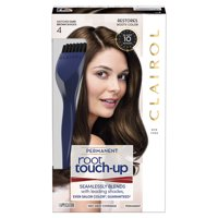 Clairol Root Touch-Up Permanent Hair Color, 4 Dark Brown