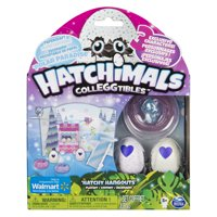 Hatchimals CollEGGtibles Polar Paradise Hatchy Hangouts Papercraft Playset with 3 Exclusive Characters, for Ages 5 and Up