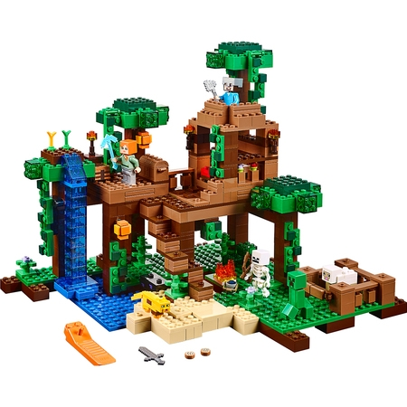 LEGO Minecraft The Jungle Tree House 21125 - Jungle Tree House