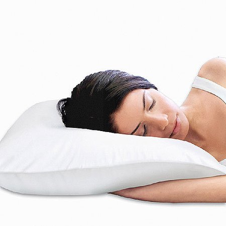- Sleep Innovations 2-in-1 Reversible Memory Foam Pillow