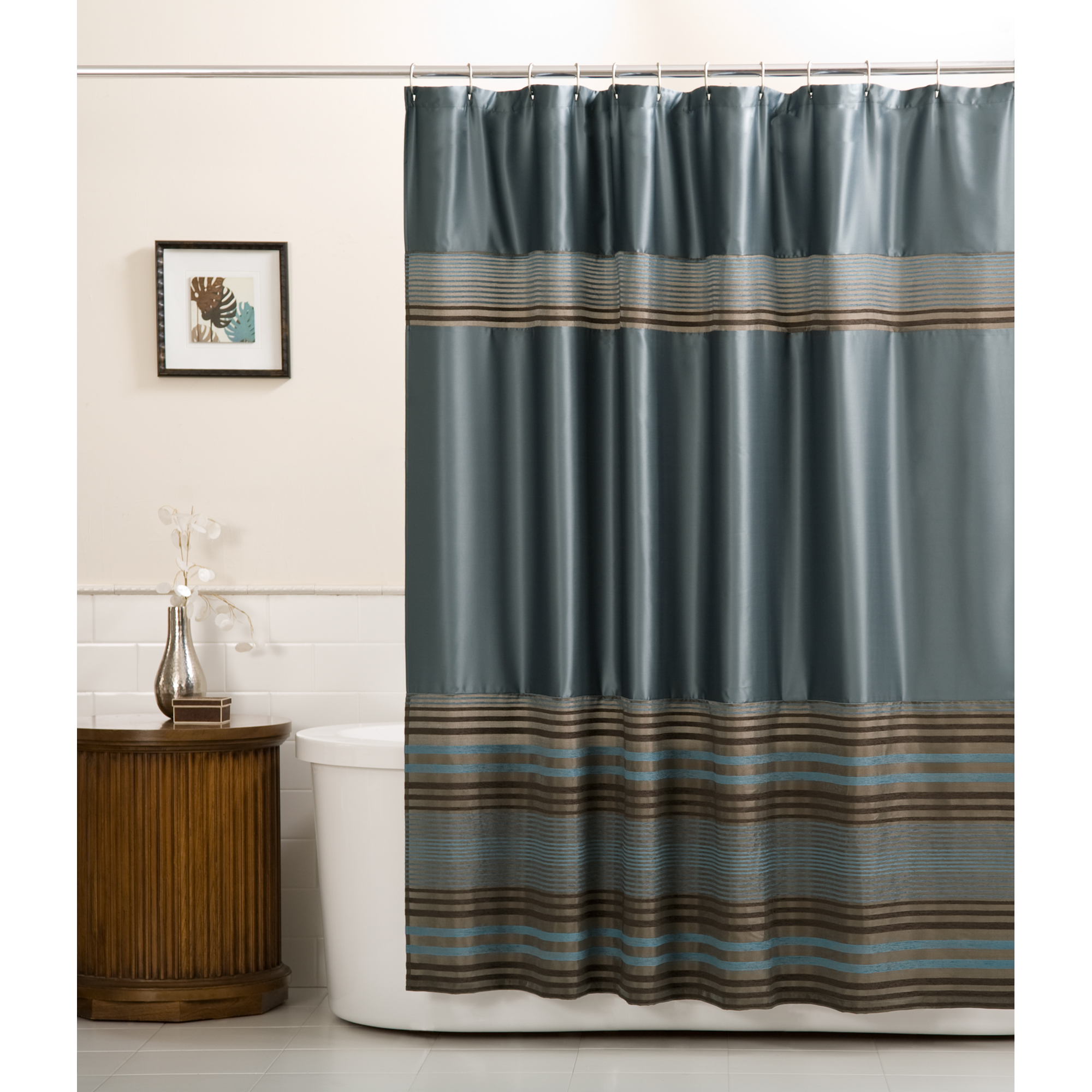 Consider, that latex leaf shower curtain apologise, but