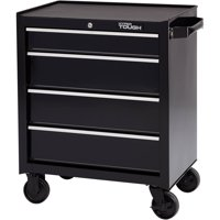 "Hyper Tough 4-Drawer Rolling Tool Cabinet with Ball-Bearing Slides, 26""W"