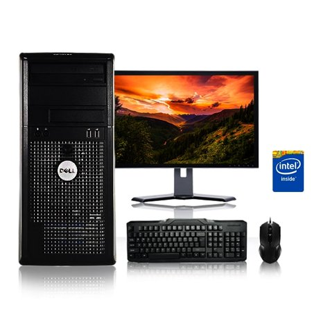 30g Pc (Refurbished - Dell Optiplex Desktop Computer 2.9 GHz Core 2 Duo Tower PC, 4GB, 250GB HDD, Windows 10 Home x64, 19