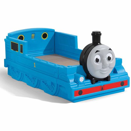 Step2 Thomas the Tank Engine Plastic Toddler Bed, Blue ()