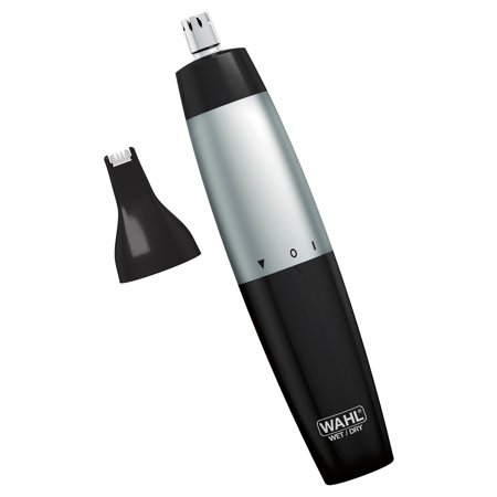 Wahl Wet/Dry 2-In-One Ear, Nose And Brow Trimmer #5560-3201