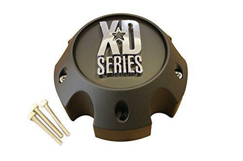 KMC XD Series 796 797 798 Matte Black 5 Lug Wheel Rim Center Cap 1079L140A Center Caps Custom Rims