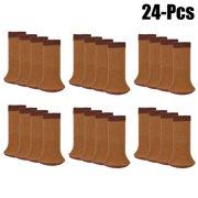 Chair Socks Set,Kapmore 24PCS Anti-skid Wool Knitted Chair Leg Floor Protectors Furniture