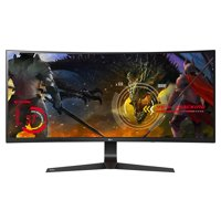 """LG 34"""" Class 21:9 UltraWide Full HD IPS Curved LED Gaming Monitor with G-SYNC"""