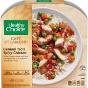 Healthy Choice Cafe Steamers Frozen Dinner, General Tso's Spicy Chicken, 10.3 Ounce