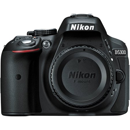 Nikon D5300 - Digital camera - SLR - 24.2 MP - APS-C - body only - Wi-Fi -