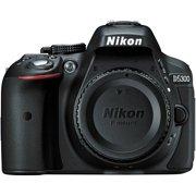 Nikon D5300 - Digital camera - SLR - 24.2 MP - APS-C - body only - Wi-Fi - black