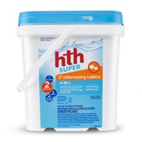 "hth Super 3"" Chlorinating Tablets, 5 lbs"