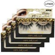 bf680cfa0e4 Miss Lashes 3D Volume Tapered Natural Silk Eyelash Extension [4-PACKS, FREE  SHIPPING