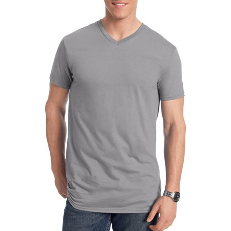 Big Men's Nano-T Short Sleeve V-neck