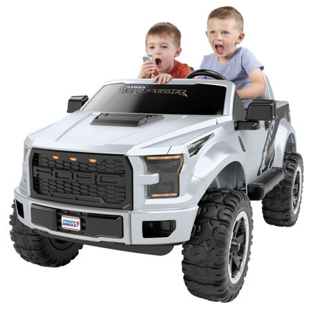 Power Wheels Ford F-150 Raptor Extreme with Lifted Body Ride-On](Power Wheels Ages 8 Up)