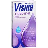 Visine Tired Eye Relief Eye Drops 0.50 oz