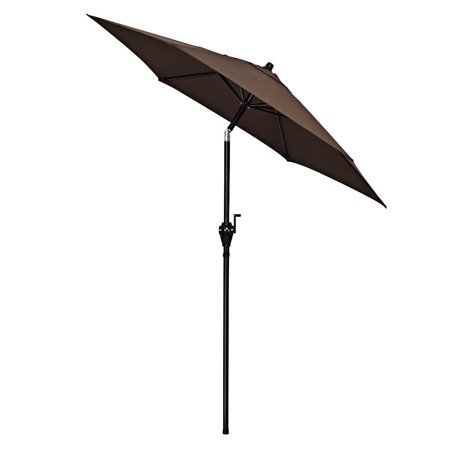 Gymax 6ft Outdoor Patio Backyard Garden Umbrella with Steady Iron Pipe Ribs - image 8 of 8