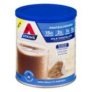 Atkins Protein Powder, Chocolate, 10.2 oz