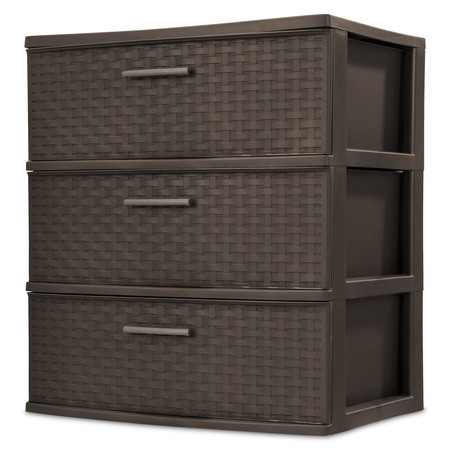 Sterilite, 3 Drawer Wide Weave (15 Drawer Cd Dvd Storage)