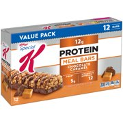 Kellogg's Special K Protein Meal Bar, Chocolate Caramel, 12g Protein, 12 Ct