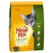 Meow Mix Indoor Health Dry Cat Food, 14.2 lb