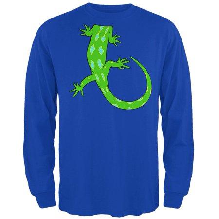 Halloween Lizard Body Costume Mens Long Sleeve T Shirt - Food Body Parts Halloween