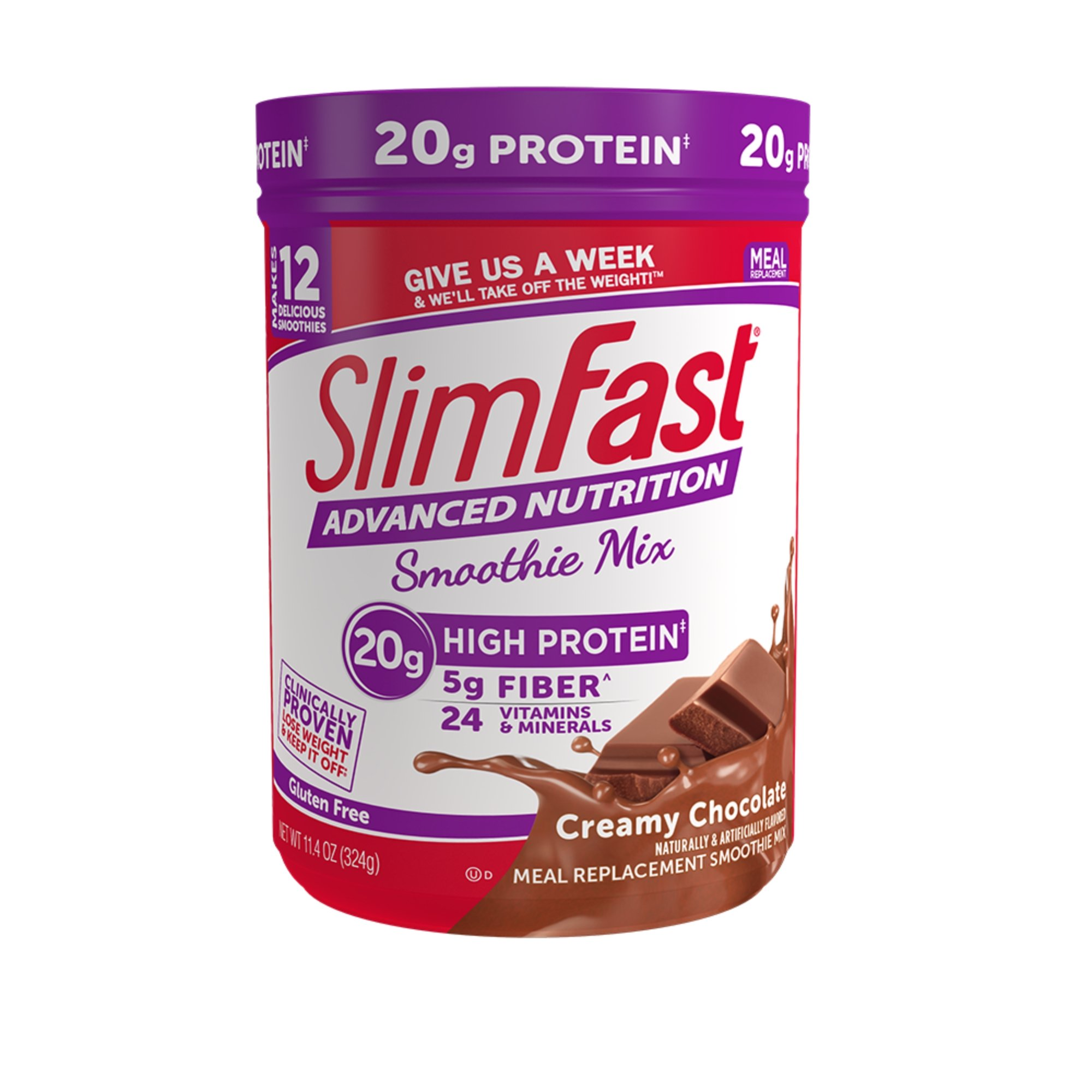 SlimFast Advanced Nutrition Smoothie, Meal Replacement