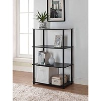 Mainstays No Tools 6 Cube Standard Storage Bookshelf, Multiple Colors