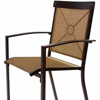 Mainstays Palmerton Landing Sling Bar Chair, Set of 4