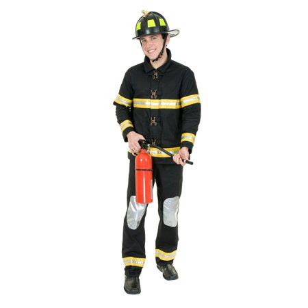 Fireman Outfit For Adults (Halloween Men's Fireman Adult)