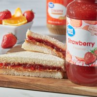 (2 Pack) Great Value Strawberry Preserves, 32 oz