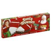 Little Debbie Family Pack Santa Brownies, 9.71 oz