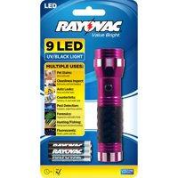 Rayovac Value Bright 9 LED UV Flashlight