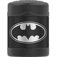 Genuine Thermos Brand Vacuum Insulated Stainless Steel Food Jar, 10 oz, Batman