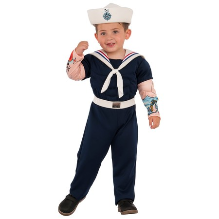 Boys Muscle Man Sailor Costume - Sailor Coatume