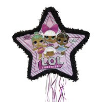 LOL Surprise Pinata, Pull-String, 22.5 x 21.5 in, 1ct