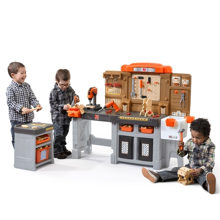 Home Workshop - Step2 Pro Play Workshop & Utility Bench with 76 Piece Tool Set