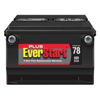 Product Image EverStart Plus Lead Acid Automotive Battery Group 78